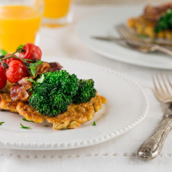 Tenderstem® broccoli Sweetcorn Fritters