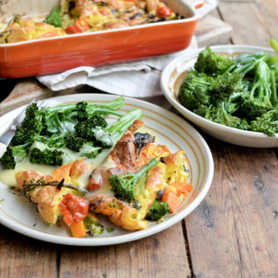 Tenderstem® broccoli Toad in the Hole