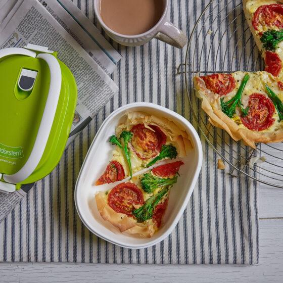 Tenderstem® broccoli & Mozzarella Tart