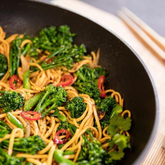 Tenderstem® broccoli with Teriyaki Noodles