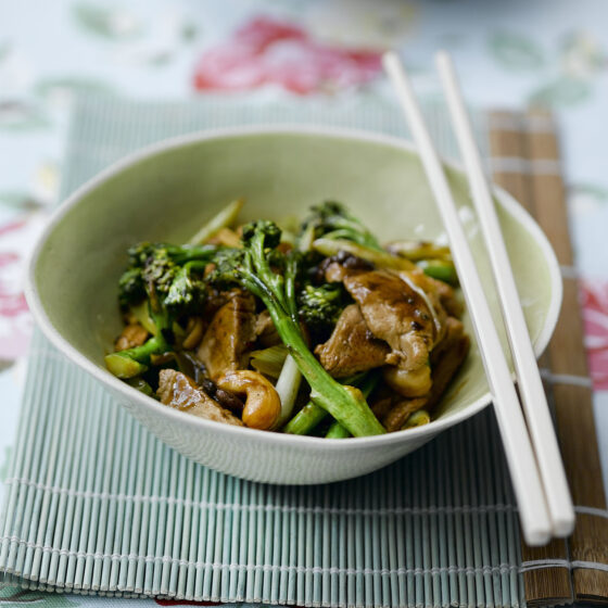 Pork, Tenderstem® broccoli & Black Bean Stir Fry