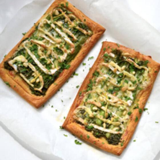 Tenderstem® Broccoli & Camembert Croissant Tarts