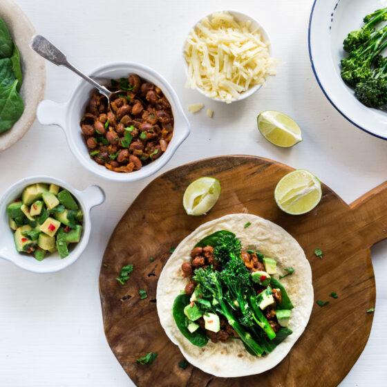 Tenderstem® broccoli Breakfast Burritos