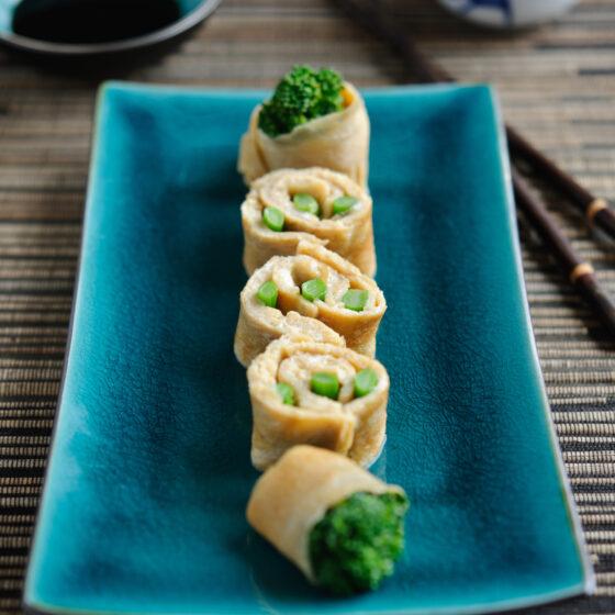 Tenderstem® broccoli Omelette Sushi Roll
