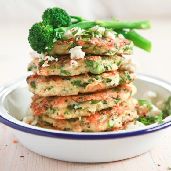 Tenderstem® broccoli Couscous Pancakes