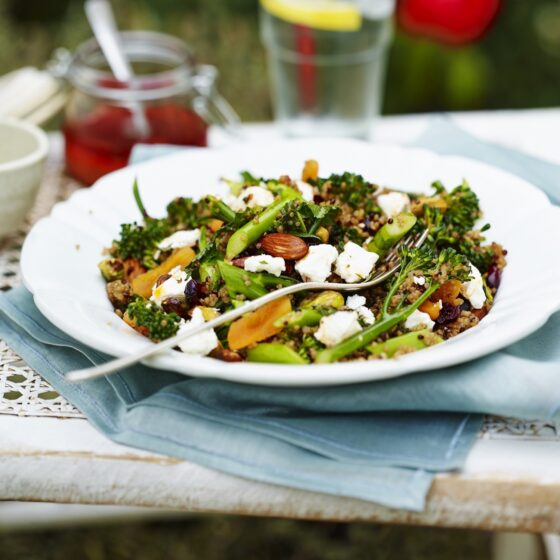 Raw Tenderstem® broccoli Salad