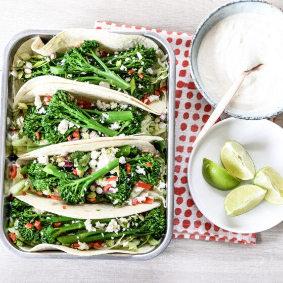 Tenderstem® broccoli Veggie Tacos