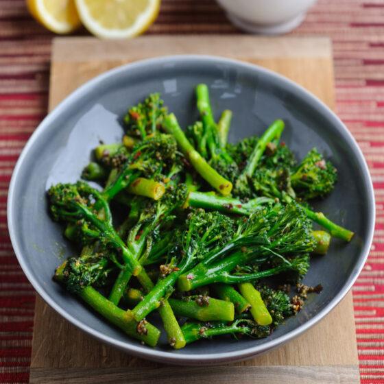 Tenderstem® broccoli with Mustard Seeds & Lemon