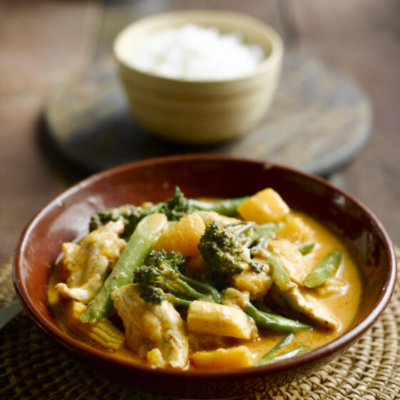 Thai Chicken, Pumpkin & Tenderstem® broccoli Curry