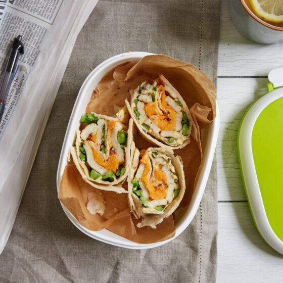 Hummus, Halloumi & Tenderstem® broccoli Wrap