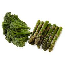 Asparagus and Tenderstem® Broccoli