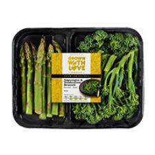 Ocado Grown With Love Asparagus & Tenderstem® broccoli Mix Pack